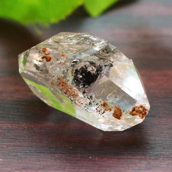 水入りハーキマーダイヤモンド(ハーキマー水晶)原石 01