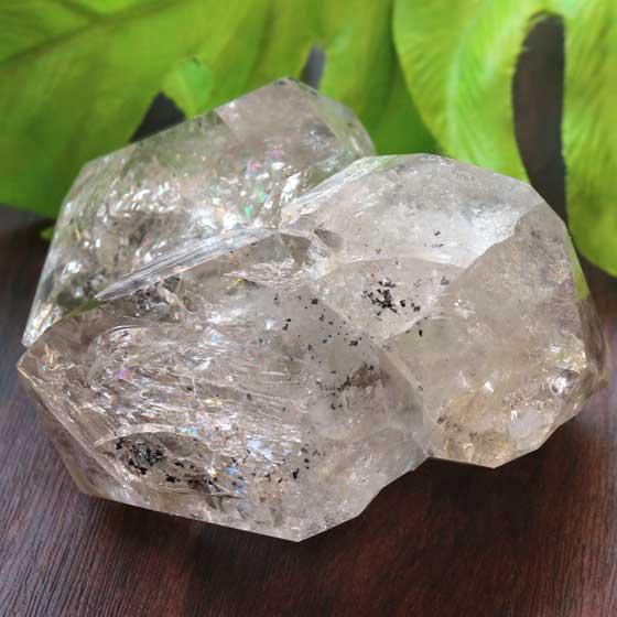稀少ハーキマーダイヤモンド(ハーキマー水晶)原石 11