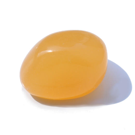 さざれ石 オレンジカルサイト3(タンブル)
