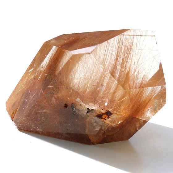 ラジル産オレンジルチルクォーツ原石11