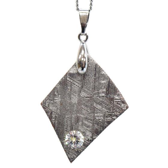 スウェーデン産メテオライト ムオニナルスタ隕石 ペンダントトップ