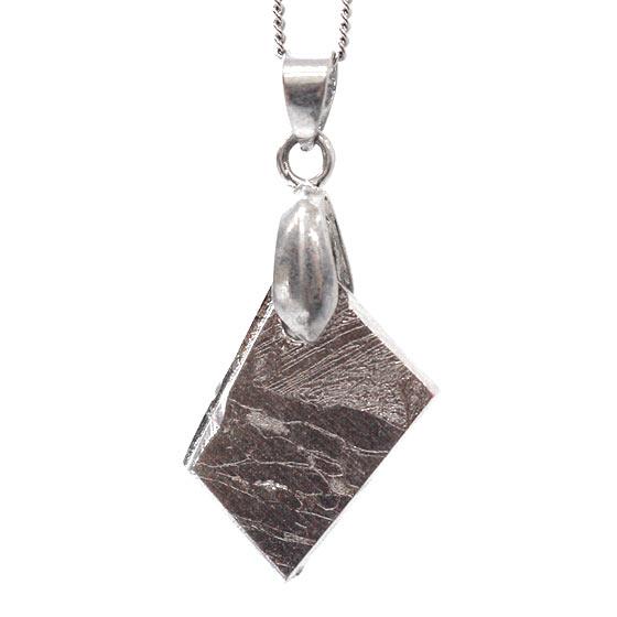 ロシア産メテオライト セイムチャン隕石 多角形 ペンダントトップ