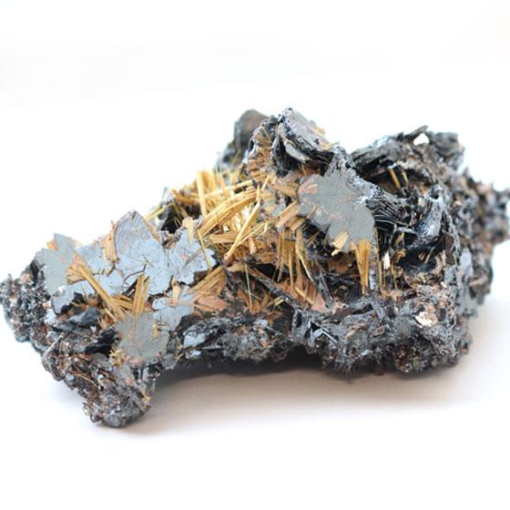ブラジル産 ルチルクォーツ結晶