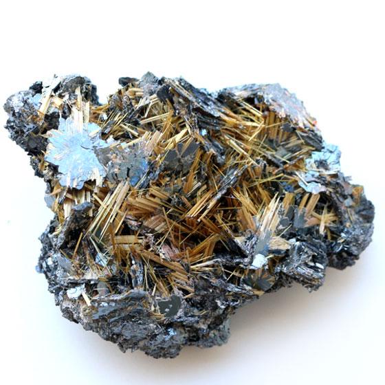 ブラジル産 ルチルクォーツ結晶 10