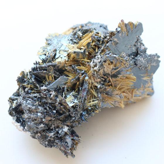 ブラジル産 ルチルクォーツ結晶 14