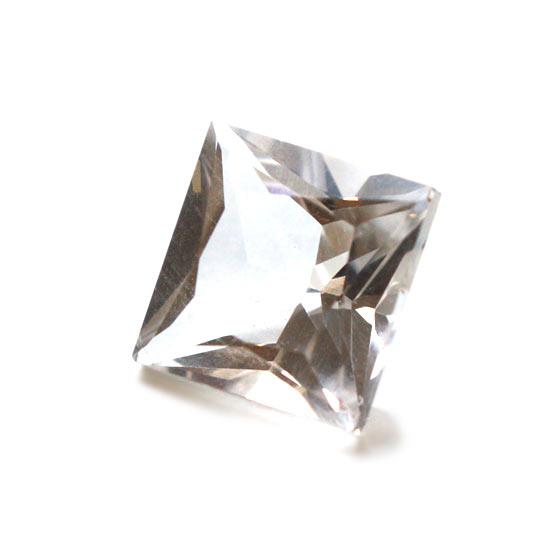アメリカ産 ハーキマーダイヤモンド 原石 ルース スクエア