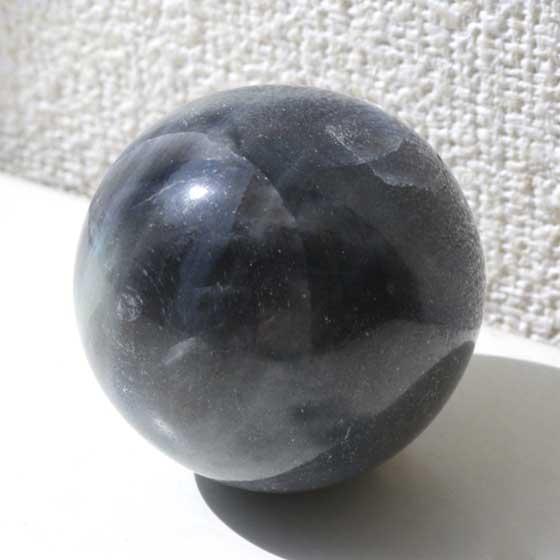 サファイア32mm球体 穴なし丸玉 パワーストーン天然石