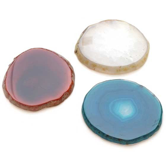 選べるアゲート(瑪瑙)プレート皿