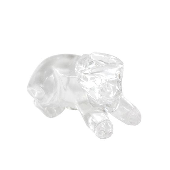 水晶置物 牛(うし ウシ 丑)
