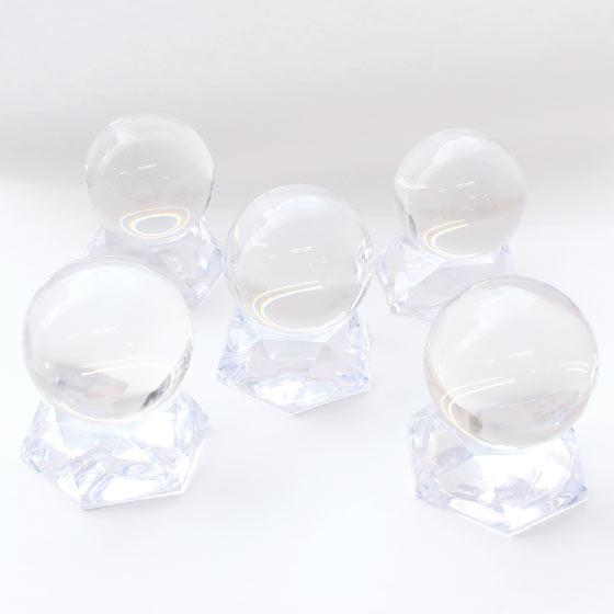 プレミアム 地鎮祭用 土地の浄化用 ゼロフィールド水晶 約48mm球 口答鑑別済み 浄化セット