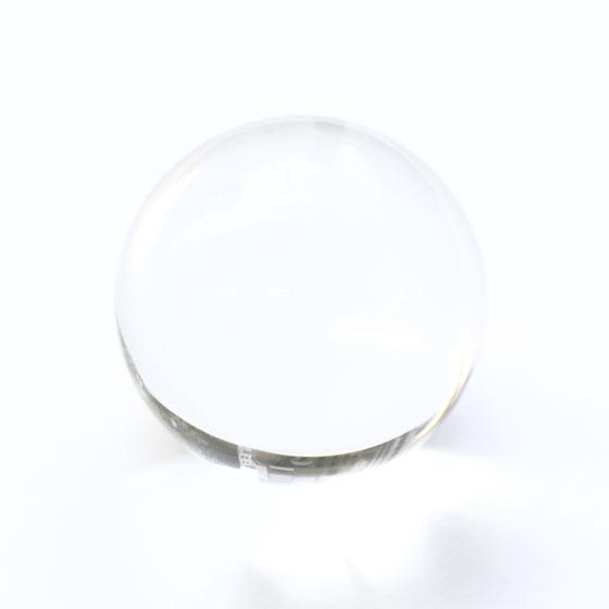 マダガスカル産 水晶 約30mm球 丸玉