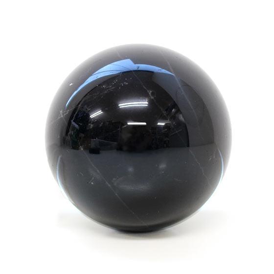 黒水晶 約85mm球 丸玉