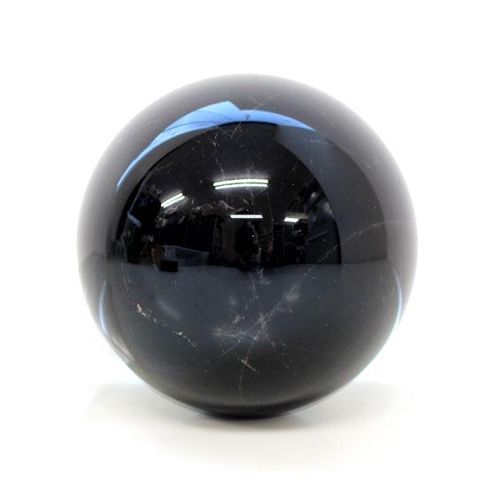 黒水晶 約84mm球 丸玉