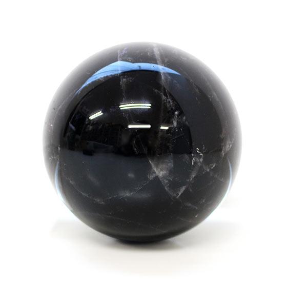 黒水晶 約80mm球 丸玉 A
