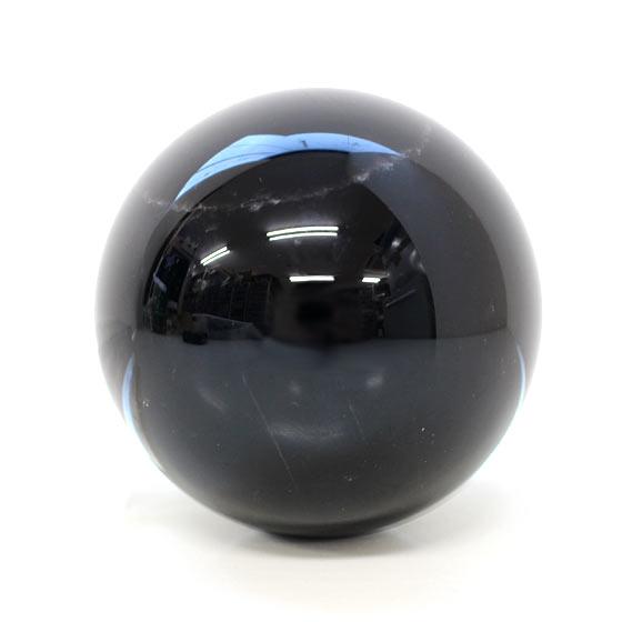 黒水晶 約79mm球 丸玉