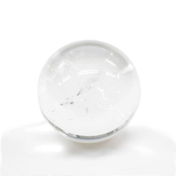 ネパール ガネーシュヒマール産 ヒマラヤ水晶 約27mm球 丸玉 球体 スフィア B