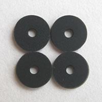 ゼロフィールドクッション黒(6mm)4個セット メール便可