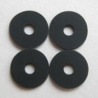 ゼロフィールドクッション黒(8mm)4個セット メール便可
