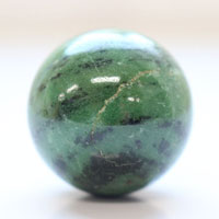 【30mm球】ゾイサイト 天然石 パワーストーン 球体 (newitem63) メール便不可