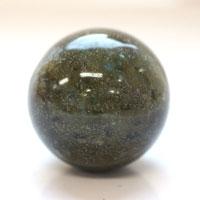 【30mm球】ラブラドライト 天然石 パワーストーン 球体 (newitem79) メール便不可