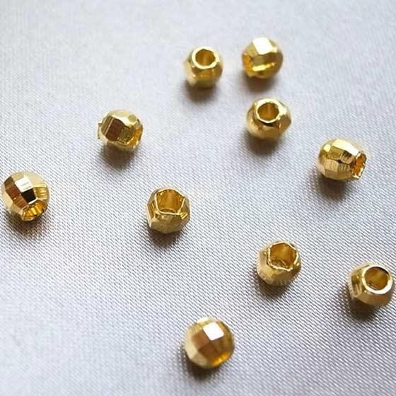 メタルパーツ(ゴールド)カット10個セット