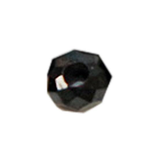 ブラックスピネルボタンカット 約3×2mm パーツ パワーストーン ビーズ (part02s2spi171017) メール便可
