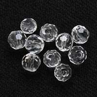 水晶ミラーボールカット4mmパーツ(10粒売り)パワーストーンビーズ (part04s2qua1505) メール便可