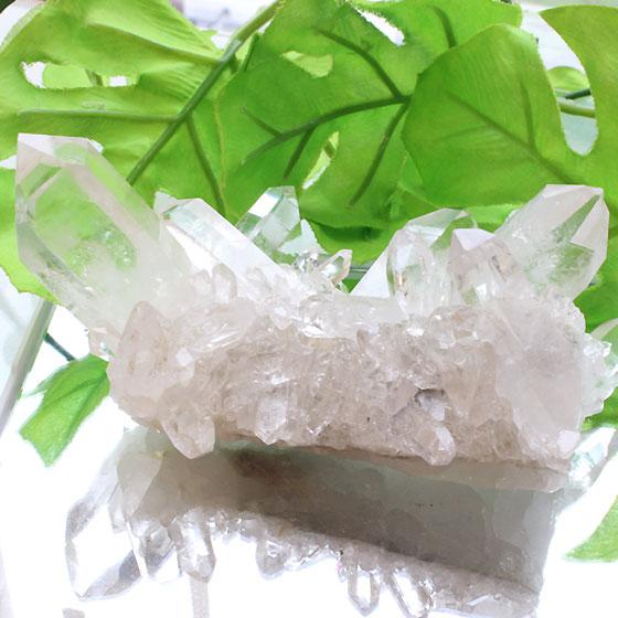コリント産水晶クラスター