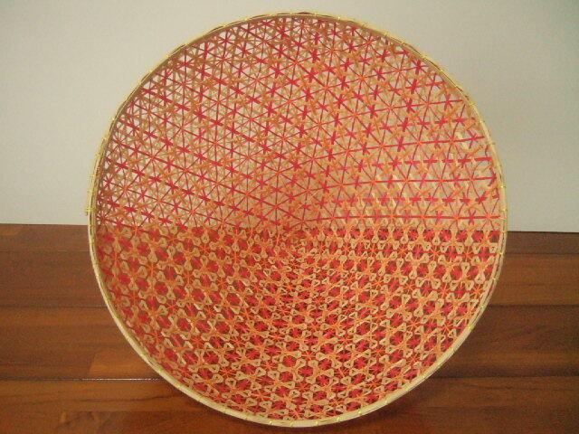 【タイ製】 ファシー フードカバー(虫よけ)やランプシェードとして ナチュラル 大サイズ30.5cm