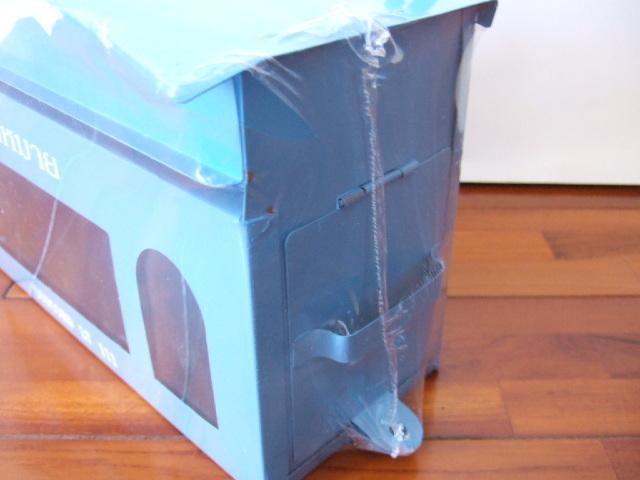 【タイ製】ポスト スカイブルー CONCORD 郵便受けやお部屋のインテリアでも使用可