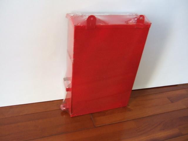 【タイ製】ポスト縦型 赤 CONCORD 郵便受けやお部屋のインテリアでも使用可