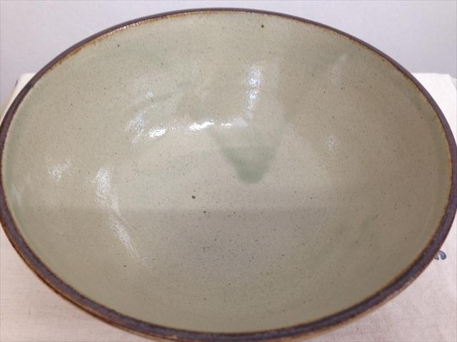 沖縄産 ツチノヒ やちむん 5.5寸マカイ 刷毛目(そばマカイ)