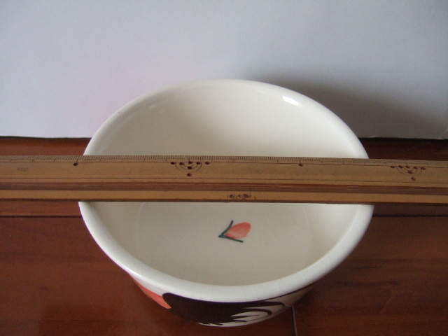 【タイ製】ニワトリマカイ 直径13cm径 ランパーン 少しカラフル