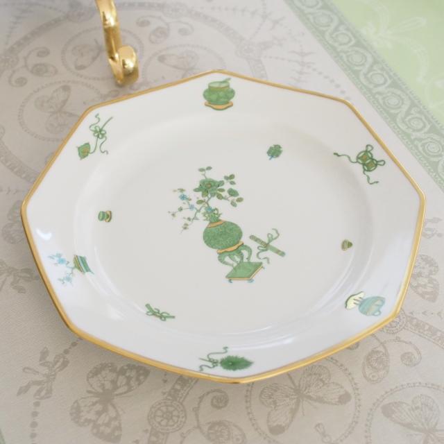ヘレンド  TOP 04325-0-00 トプカプ 八角ディナー皿 約22.5cm