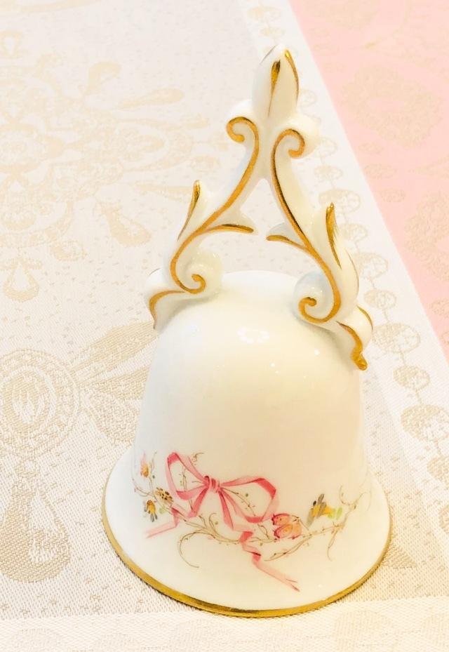 ☆ラスト1点☆Herend EDEN エデン桜ピンク シンプル テーブルベル