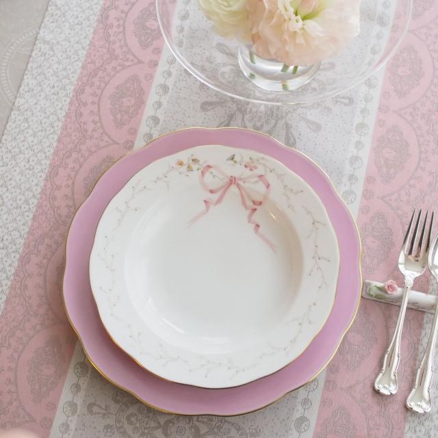 ☆ご会員様優先販売☆Herend ヘレンド エデン桜ピンク シンプル スーププレート (※スーププレート のみ。アンダープレートは別売りです。)
