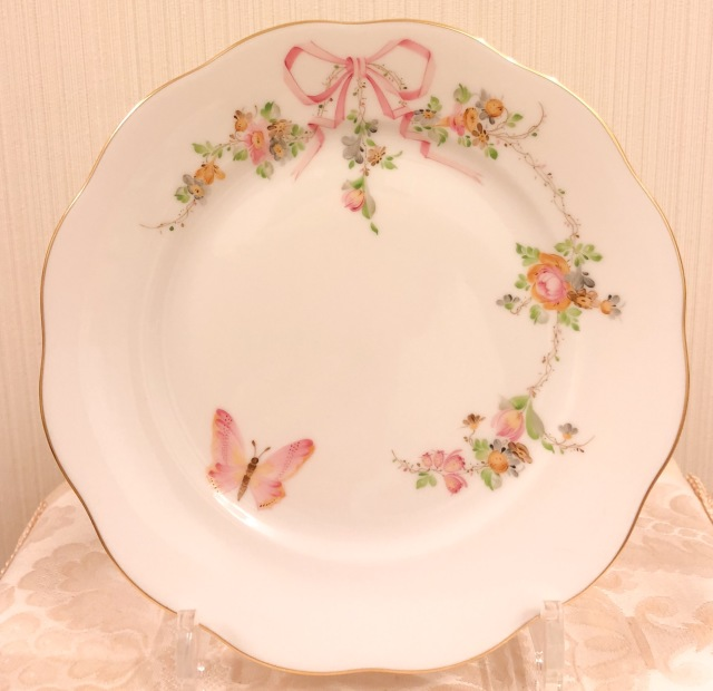 ☆特別ご案内価格☆入荷分のみ☆Herend エデン桜ピンク デザートプレート 19cm