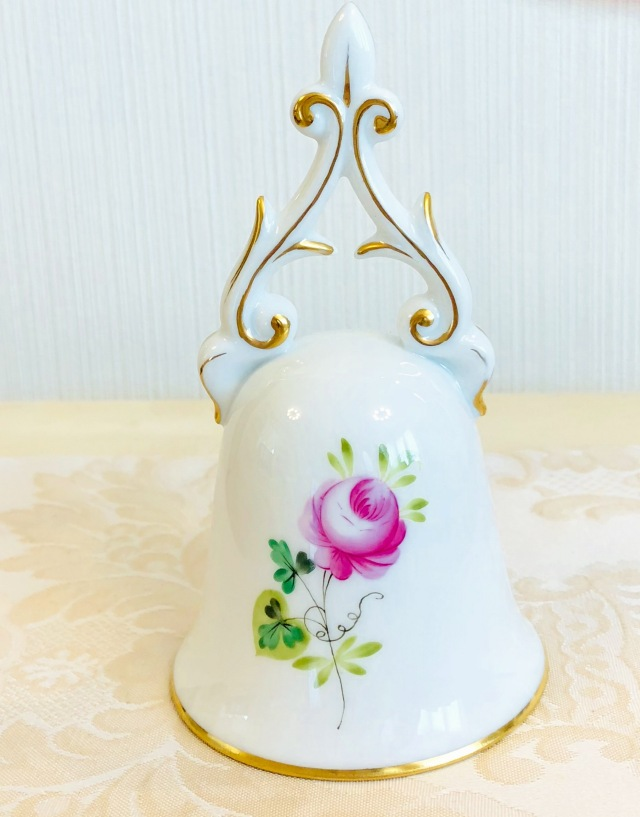 ☆再入荷☆Herend VRHS ウィーンの薔薇シンプルゴールド テーブルベル