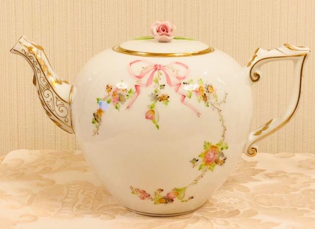 ☆再入荷☆ EDEN ヘレンド エデン桜ピンク TeaPot 800ml