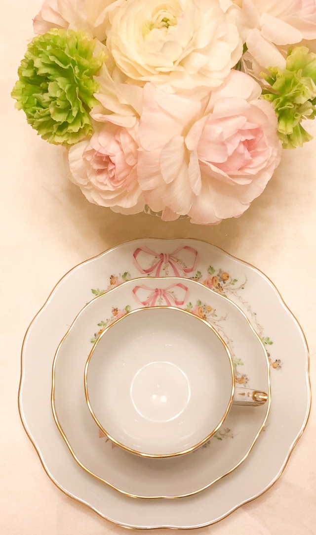 ☆入荷待ち☆ ヘレンド エデン桜ピンク トリオ