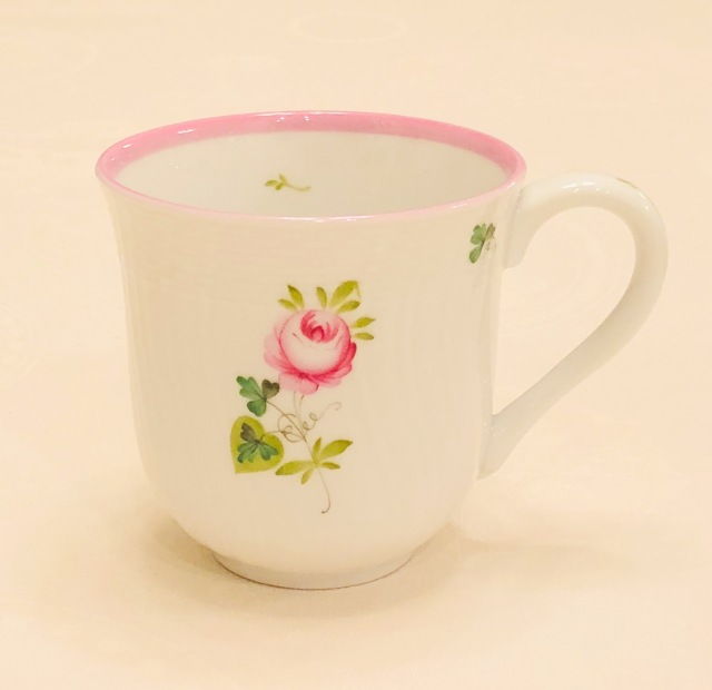 ヘレンド VRH-X4 01729-0-00 ウィーンの薔薇ピンク ラージマグ 約300ml