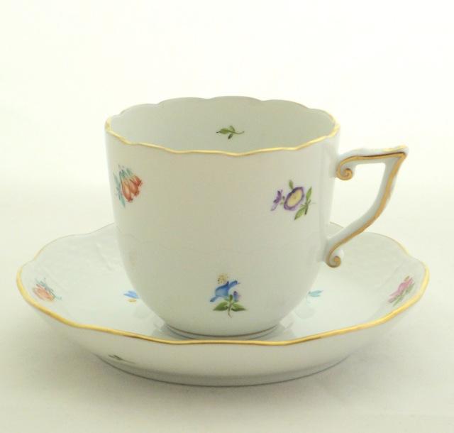 ヘレンド MF 20706-0-00 ミルフルール コーヒーカップ&ソーサー (200ml)