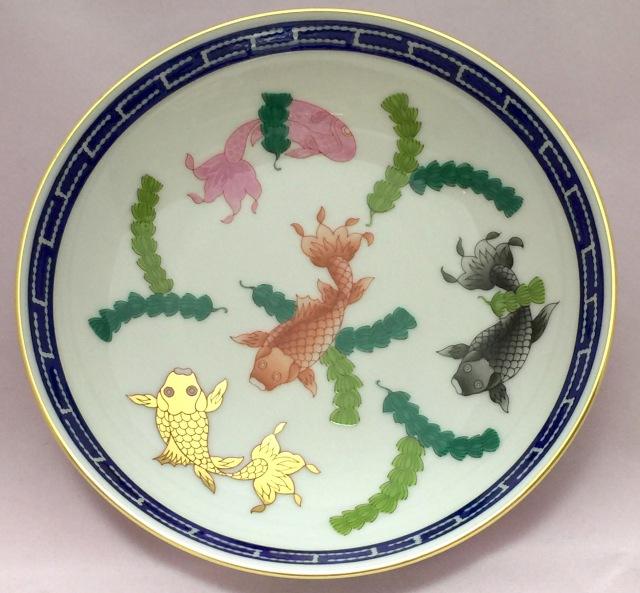 ヘレンド PO 02704-1-00 ポワッソン 小皿 約13.5cm