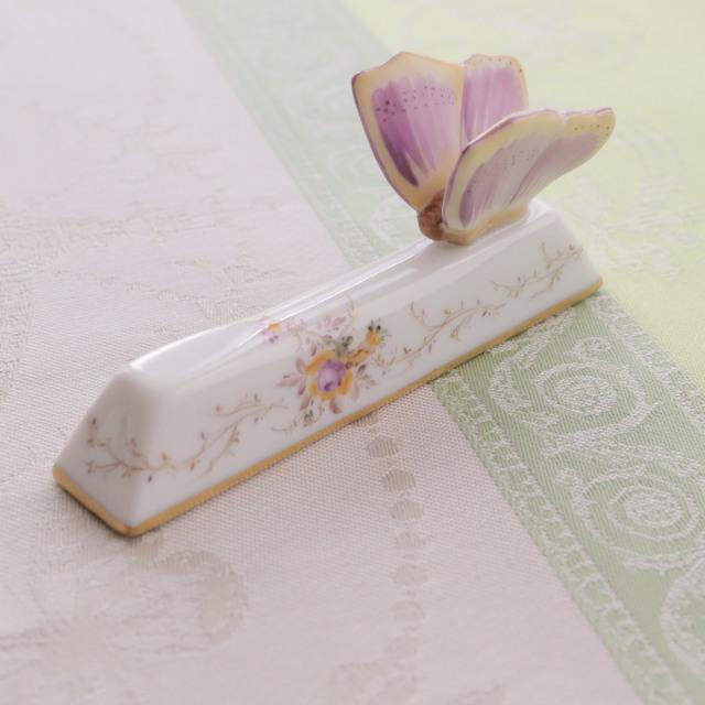 ☆再入荷☆ヘレンド EDENS 02276-0-17 シンプルエデン ナイフレスト パピヨン (蝶のみ。ローズは別売りです。)