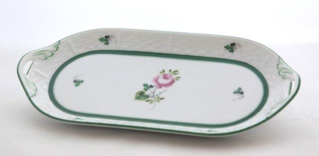 ヘレンド VRH 00437-0-00 ウィーンの薔薇 サンドウィッチプレート