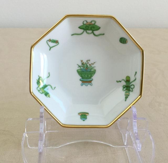 ヘレンド  TOP 04307-1-00 トプカプ 八角小皿 約10.5cm 1枚