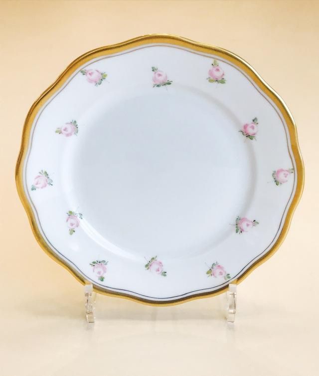 ヘレンド PTRA 20517-0-00 朝霧の小薔薇 デザートプレート  19cm (*プレートのみ。カップ&ソーサーは付属しません。)