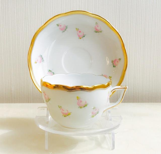 ヘレンド PTRA 20724-0-00 朝霧の小薔薇 兼用カップ&ソーサー (*カップ&ソーサーのみ。プレートは付属しません。)