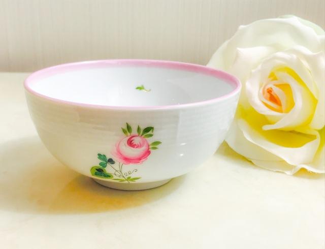 ヘレンド VRH-X4 00356-0-00 ウィーンの薔薇ピンク マルチボウル 12cm