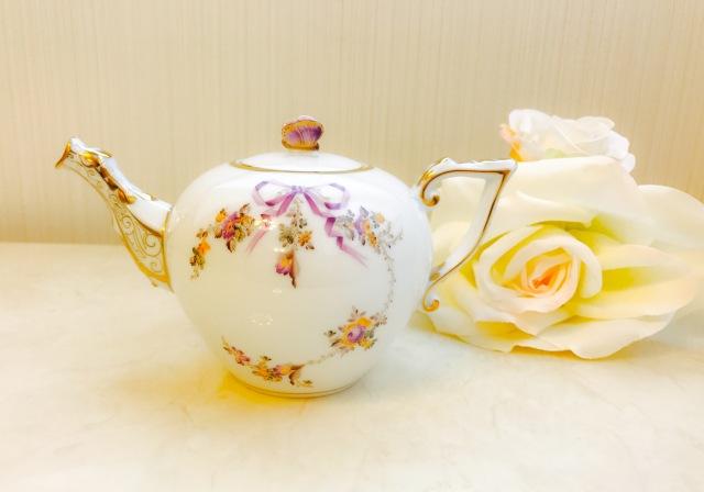 ☆レア☆即納品☆ コロンっと可愛い ヘレンド バタフライトップ  EDEN 20608-0-17 エデン TeaPot 400ml